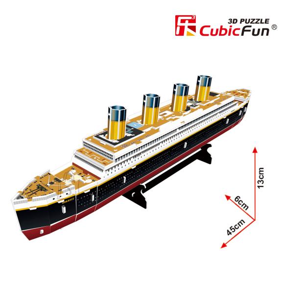 CubicFun 3D pusle Titanic Väike 35 tk