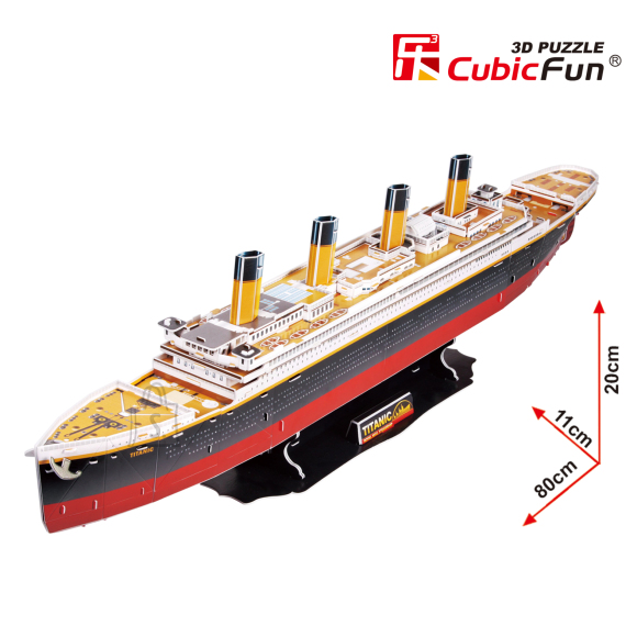 CubicFun 3D pusle Titanic Suur 113 tk