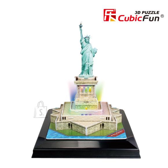 CubicFun 3D pusle Vabadussammas (valgustusega) 37 tk