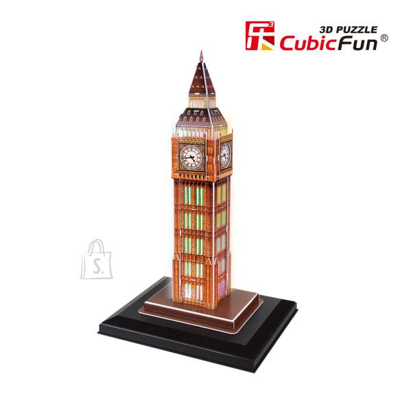 CubicFun 3D pusle Big Ben (valgustusega) 28 tk