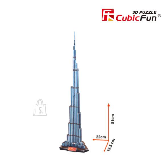 CubicFun 3D pusle Burj Khalifa 91 tk
