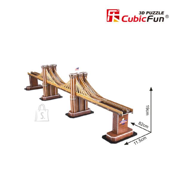 CubicFun 3D pusle Brooklyn Bridge 64 tk