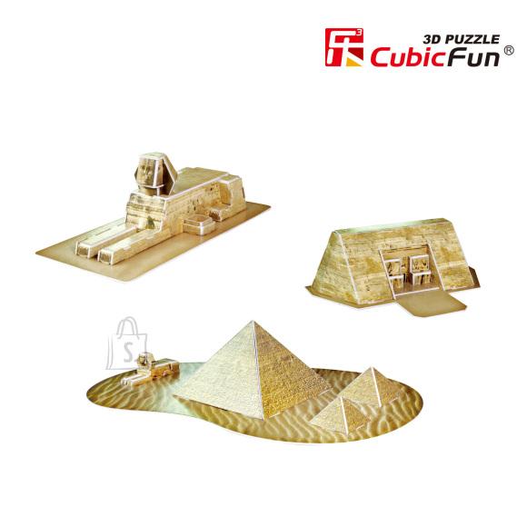 CubicFun 3D pusle Egiptuse Püramiidid 38 tk
