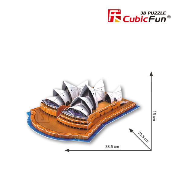 CubicFun 3D pusle Sydney Ooperimaja 41 tk
