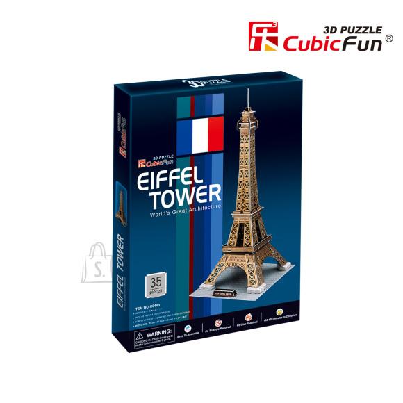 CubicFun 3D pusle Eiffeli Torn 35 tk