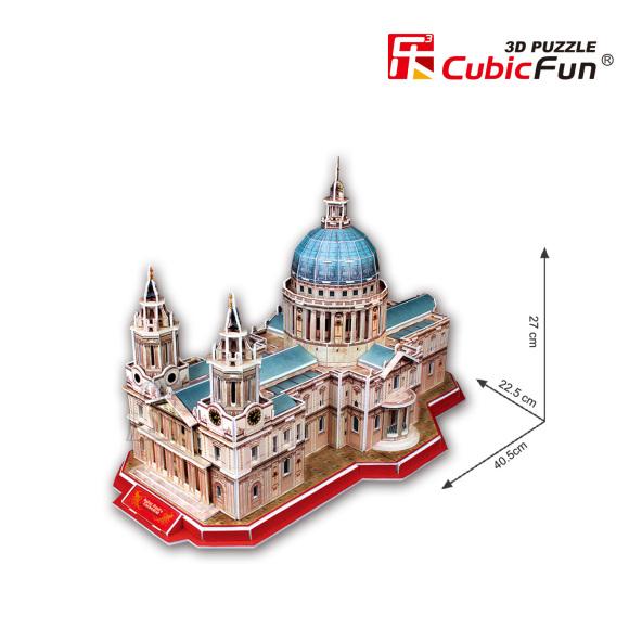 CubicFun 3D pusle Püha Paavli Katedraal 117 tk