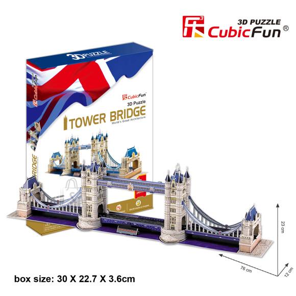 CubicFun 3D pusle Tower Bridge 120 tk