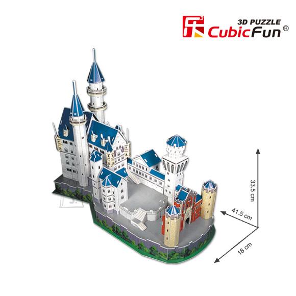 CubicFun 3D pusle Neuschwanstein Loss 98 tk