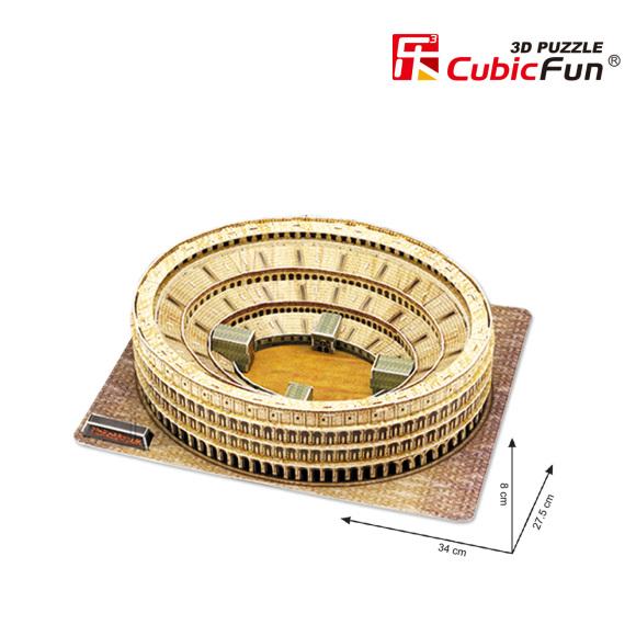 CubicFun 3D pusle Colosseum 84 tk