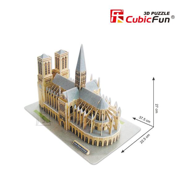 CubicFun 3D pusle Jumalaema Kirik 74 tk