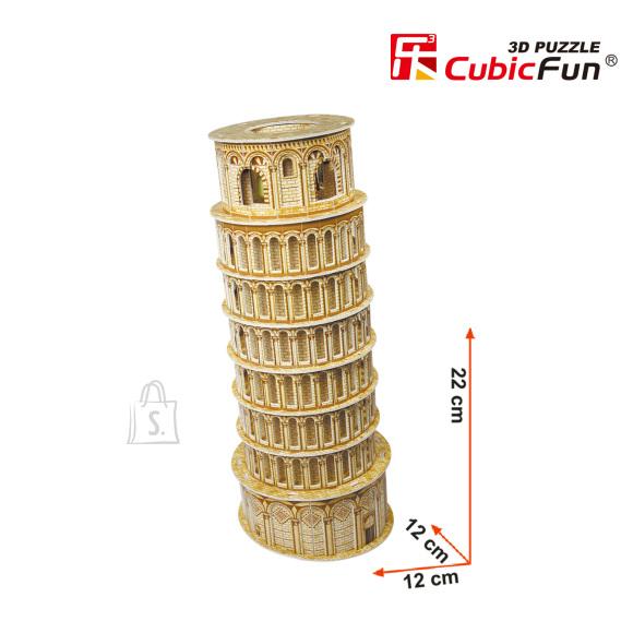 CubicFun 3D pusle Pisa Torn 30 tk