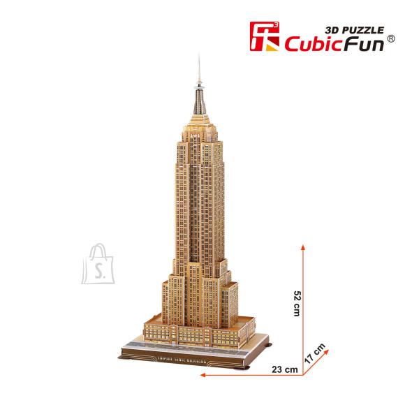 CubicFun 3D pusle Empire State Pilvelõhkuja 55 tk