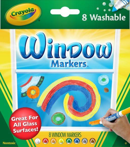 Crayola klaasimarker 8 tk