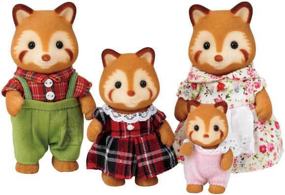 Sylvanian Families punase panda pere