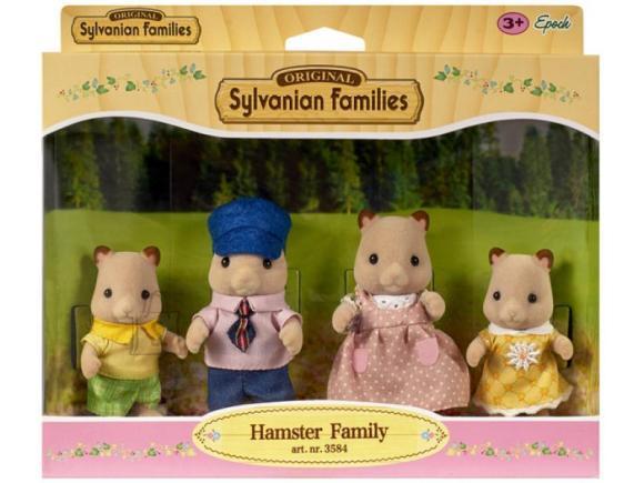 Sylvanian Families mängukujud Hamstri pere