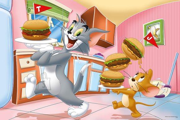 Trefl maxipusle Tom ja Jerry