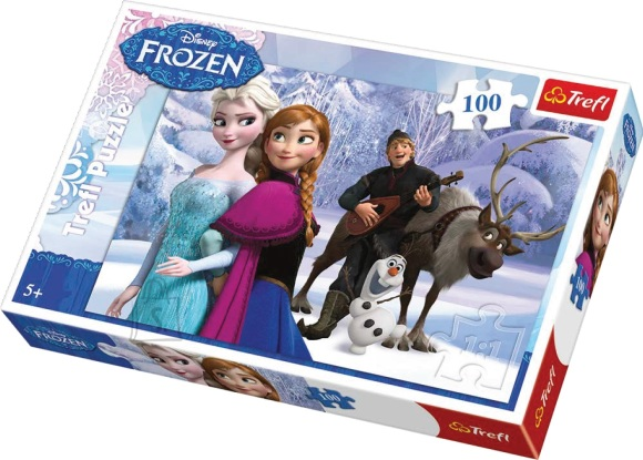 Trefl Pusle Anna & Elsa 100 tk