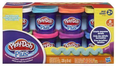 Play Doh Plus voolimismass topsides komplekt