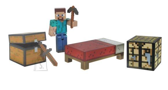 Minecraft mängukujuke ja ellujäämise komplekt