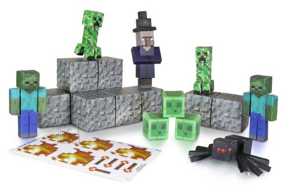 Minecraft pabervoltimine vaenlased