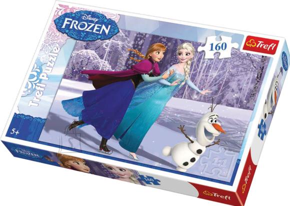 Trefl pusle Frozen uisutamine 160 tk