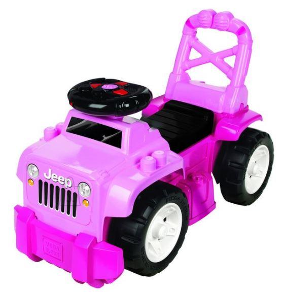 Mega Bloks tõukeauto Jeep