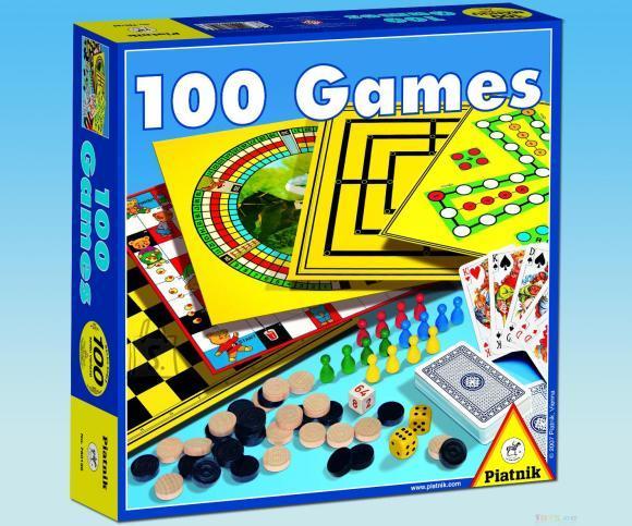 Piatnik lauamäng 100 Mängu