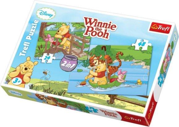 Trefl pusle komplekt Winnie the Pooh 72 tk