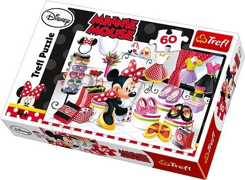 Trefl pusle Minnie-Hiir 60 tk