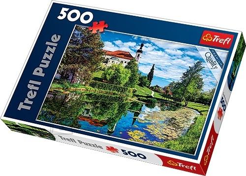 Trefl pusle Chiemsee Järv Bavaarias 500 tk