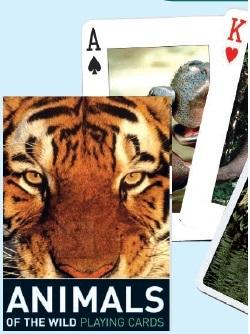 Piatnik mängukaardid - Metsaloomad