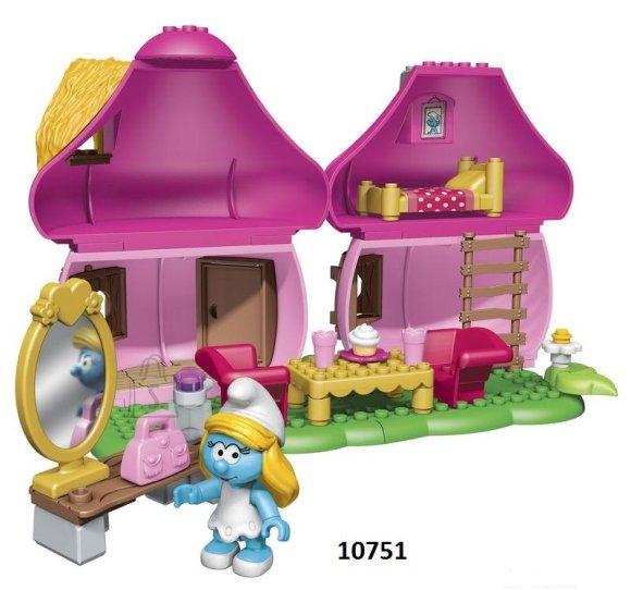 Mega Bloks mängukomplekt Smurfi maja