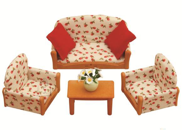 Sylvanian Families kolmene mööbli komplekt