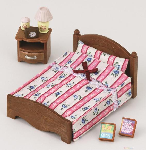 Sylvanian Families kahene voodi