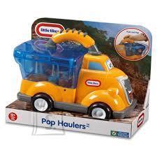 Little Tikes käepidemega prügiauto