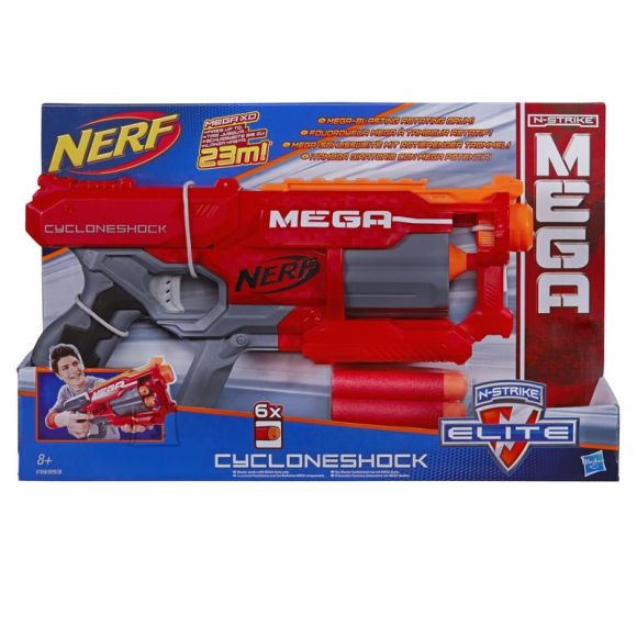 Nerf mängupüstol N-Strike Mega Cycloneshock