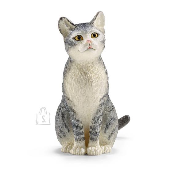 Schleich mängukuju istuv Kass
