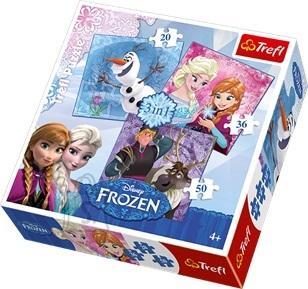 Trefl puslekomplekt Frozen 106 tk