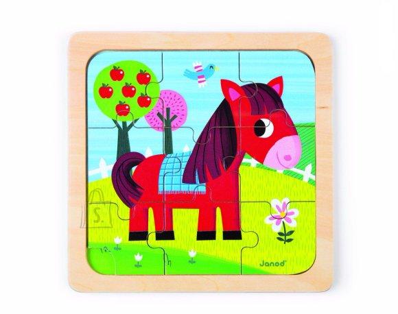 Janod puidust raampusle hobune