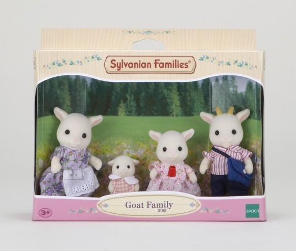Sylvanian Families mängukujud Kitse pere