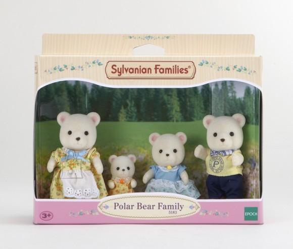 Sylvanian Families mängukujud Jääkaru pere