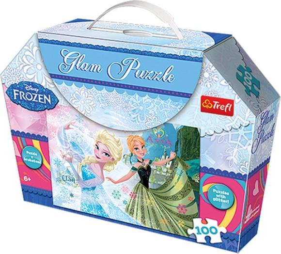 Trefl pusle Frozen 100tk