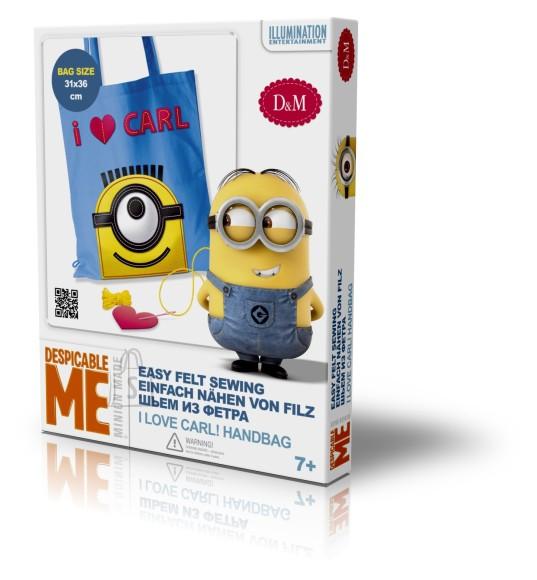 9d039911e53 Minions Minions käekott I love Carl