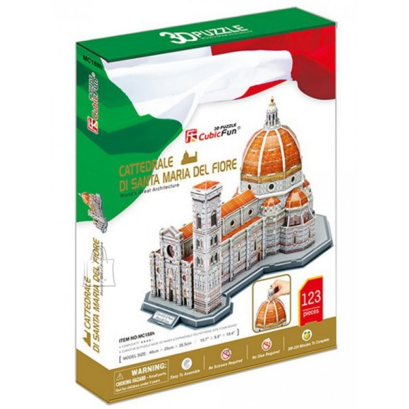 CubicFun 3D pusle Santa Maria Katedraal 123 tk