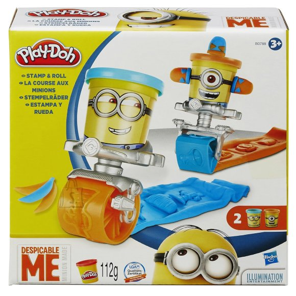 Play Doh Minions templid
