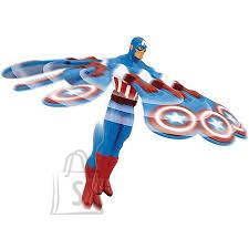 Flying Heroes lendav mängutegelane Captain America