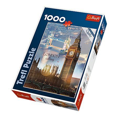 Trefl pusle London 1000 tk
