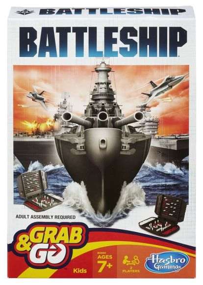 Hasbro lauamäng Laevade pommitamine
