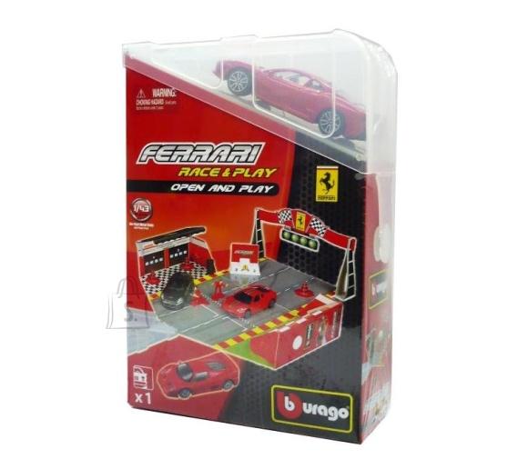 Bburago autoraja komplekt Ferrari Open & Play