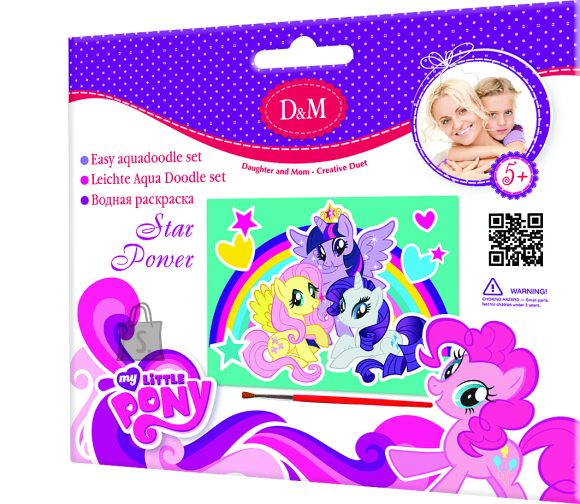 My Little Pony Recontuli My Little Pony vesivärvid